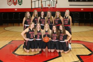 2019-20 JV Girls Basketball Team