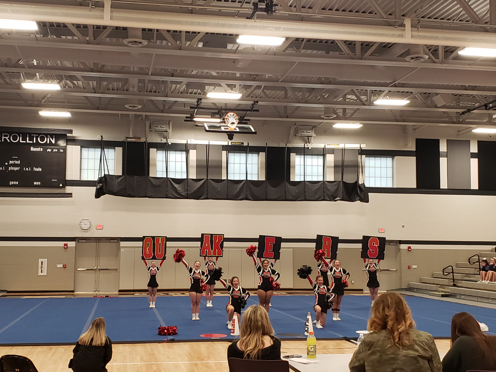 2020-2021 Cheerleading Tryout Information