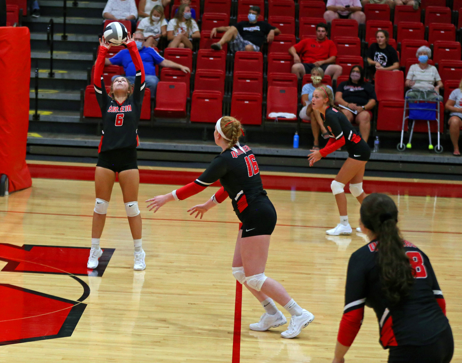 HS Volleyball Postponed Today