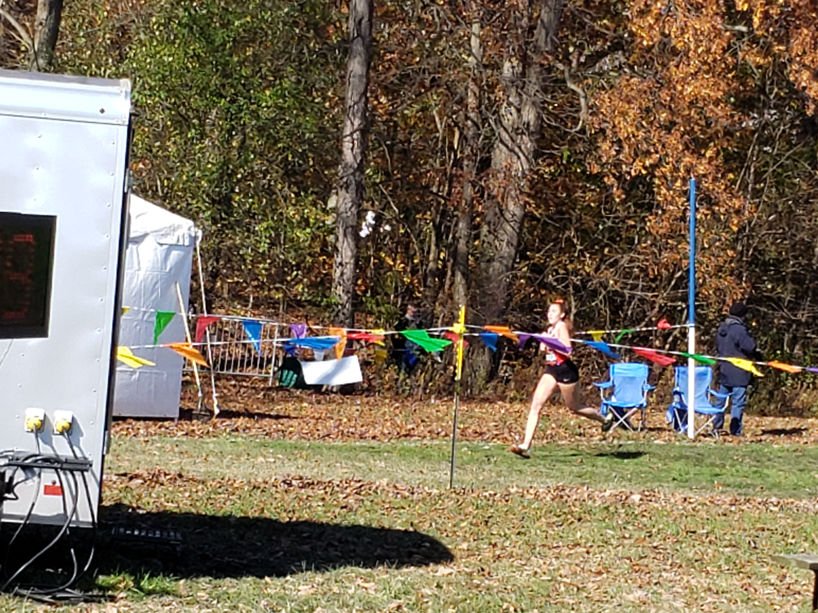 Hall Races to State CC Meet
