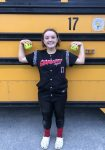 Salem Varsity Softball defeated in second game of DH 9-1 to United