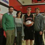 Jeremiah Hanson Scores 1000th Point