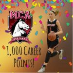 JARNOT JOINS 1,000 POINT CLUB