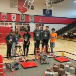 Robotics host First Competition