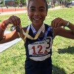 Young Mustang already making her mark in the track community