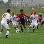 Boys Varsity Soccer with a big Fall Fest Win