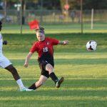 Boys varsity soccer finishes regular season with a bang