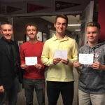 3 MCA Athletes Honored as Commended Students
