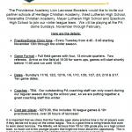 Boys Lacrosse Info