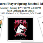 Baseball information meeting