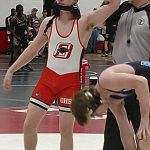JV Wrestling: Burgess picks up two wins