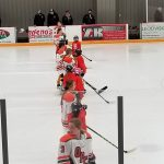 Girls Hockey plays to tie