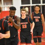 Boys Varsity Basketball bounces back