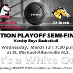 Boys Section Semifinals
