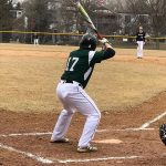 Warriors baseball battle the chilly weather