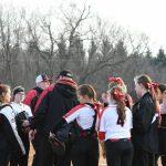Varsity Softball win 2019 Opening Game