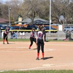 Middle School Softball takes to the field