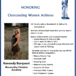 Kennedy Burquest Honored at the Athena Luncheon