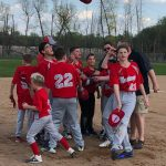 Middle School Baseball Records a Win