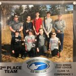 Trapshooting Team Captures 2nd Place in Class 1A Conference 1