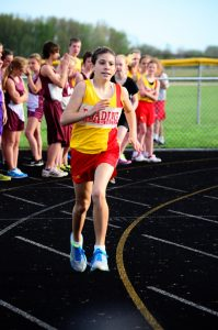 Jr. High Girls Track vs. Jonesville and Union City