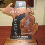 Varsity Girls Track Team-State Runner Up