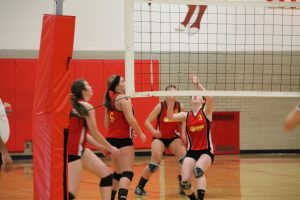 Volleyball vs. Quincy (Parent's Night)