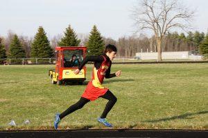 Varsity Track vs. Union City and Springport