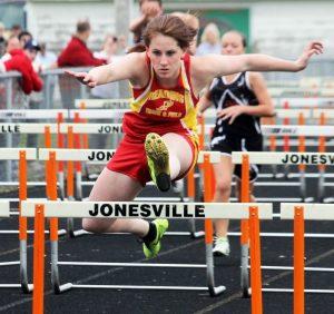 Varsity Girls Track @ Jonesville
