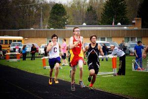 Varsity Track at Jonesville vs Concord and Jonesville