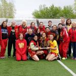Lady Rangers Win Regional Meet