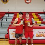 Affholter and Denison Make All Tournament Team