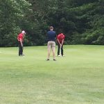 Warrior Boys Golf Battle Brookfield at Home
