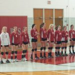 Lady Warrior V-Ball Fall to the Tigers