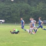 Boys Soccer Battles in AAC Action