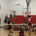 Volleyball Battles Jefferson to the Finish