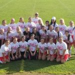 Lady Warriors Battle in 2017 Kick for Cure Game