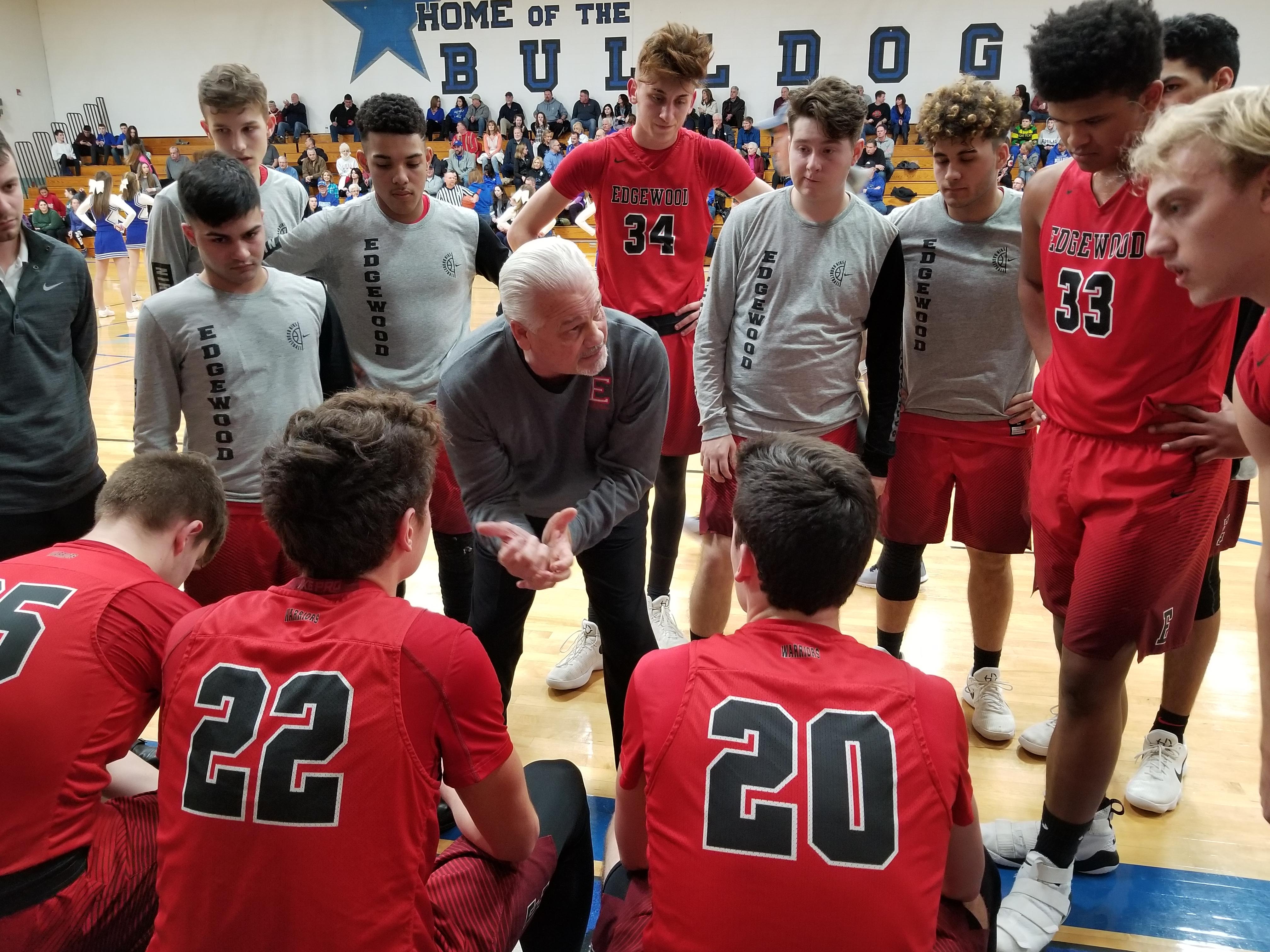 2018 7th and 8th Grade Warrior Boys Basketball Camp