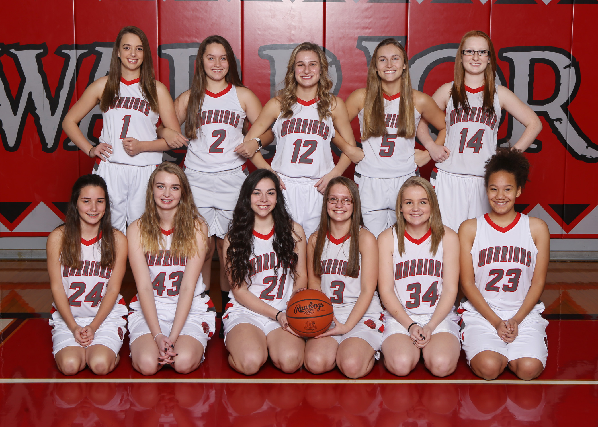 2018 Lady Warrior Basketball Camp