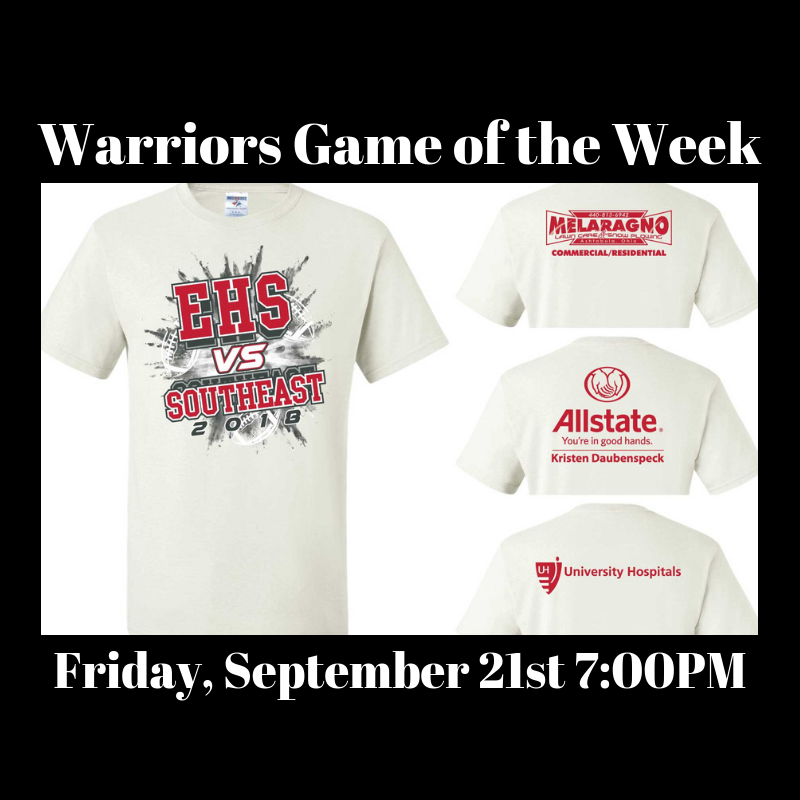 Warriors Host Southeast Friday Night! Get your Pre-Sale Package!