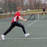 Boys Varsity Tennis falls to Conneaut 4 – 1