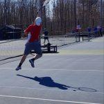 Boys Varsity Tennis Falls to Saint John 4-1