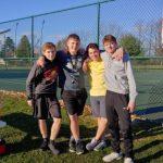 Boys Varsity Tennis beats Austintown Fitch 3 – 2