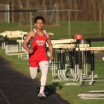 Warrior Track Dominates at Newton Falls