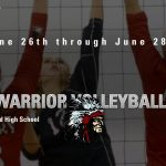 2019 Lady Warrior Volleyball Camp Grades 3-6