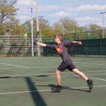 Boys Varsity Tennis falls to Warren G Harding 4 – 1