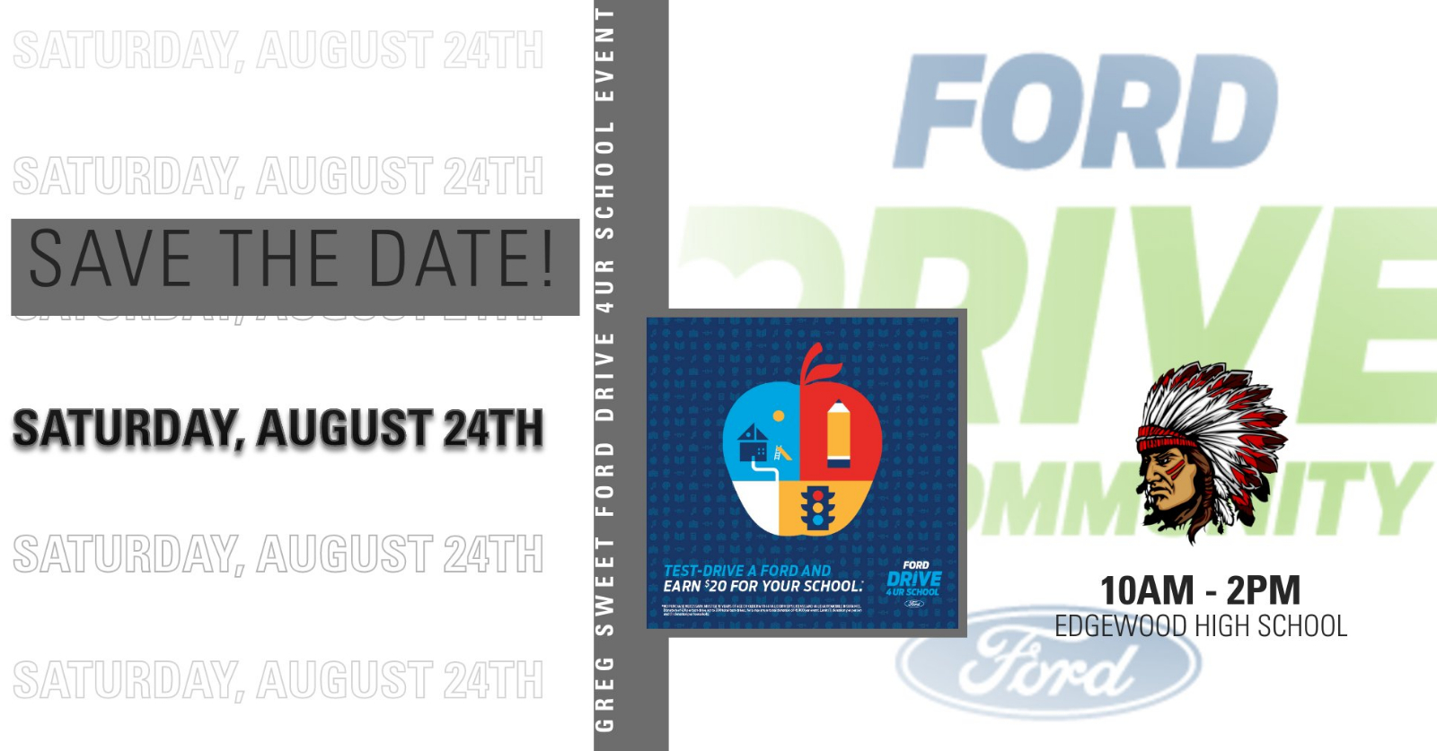 2019 Athletic Boosters Ford Drive Event