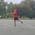 Girls Varsity Tennis defeats Harvey