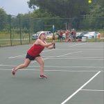 Girls Varsity Tennis defeats Harvey in Double Header