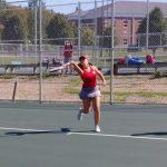 Girls Varsity Tennis falls to Lakeside 3 – 2